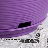 """Горшок с поддоном 2,7 л, d=23, h=11,5 """"Марсель"""", цвет фиолетовый, фото 3"""