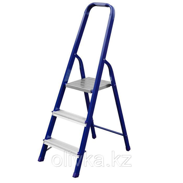"""Лестница-стремянка """"СИБИН"""" 38803-03, стальная, 60 см, 3 ступени"""