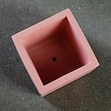 """Фигурное кашпо """"Куб"""" 8х6 см МИКС, фото 4"""
