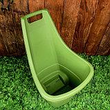 Тележка садовая Keter, двухколёсная, 50 л, пластик, цвет МИКС, фото 3