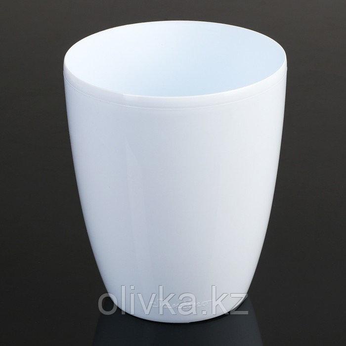 Горшок Santino «Орхидея», 1,3 л, цвет белый