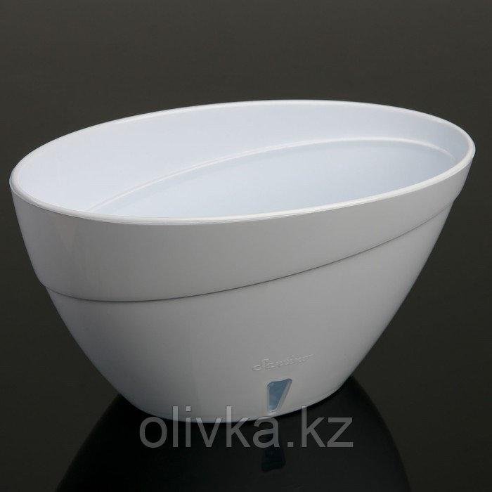 Горшок Calipso, 2 л, цвет белый