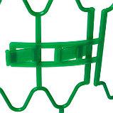 Кустодержатель для клубники, d = 15 см, h = 18 см, пластик, набор 10 шт., зелёный, «Волна», фото 2