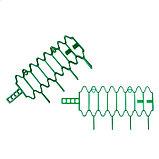 Кустодержатель для клубники, d = 15 см, h = 18 см, пластик, набор 10 шт., зелёный, «Волна», фото 3