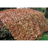 Маскировочная сеть «Лайт», 2 × 3 м, зелёная/коричневая, фото 4