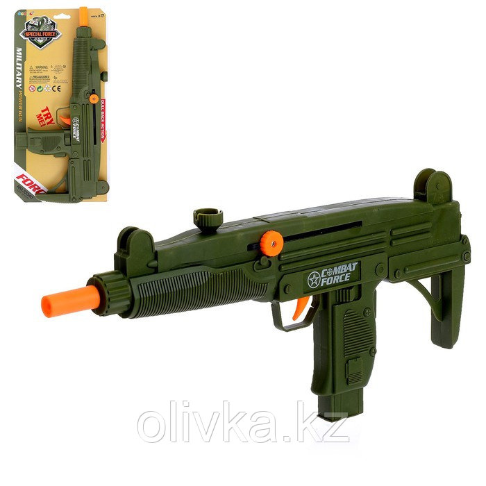 Пистолет-трещотка «Узи»