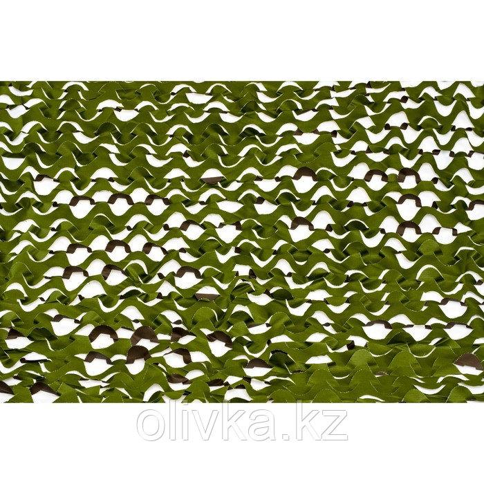 Маскировочная сеть «Лайт», 2 × 5 м, зелёная/коричневая