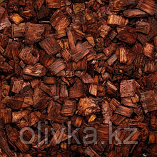 Щепа декоративная, коричневая 60л.