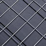 Сетка оцинкованная сварная 1,5 х 10 м, ячейка 25 х 50 мм, d=1,4 мм, металл, фото 2