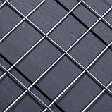 Сетка оцинкованная сварная 1,5 х 25 м, ячейка 25 х 50 мм, d=1,6 мм, металл, фото 2