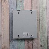 Ящик почтовый «Письмо», вертикальный, с замком-щеколдой, серый, фото 5
