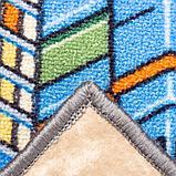 Ковер принт Мегаполис, размер 100х150 см, цвет серый, полиамид, фото 3