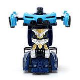 """Робот радиоуправляемый """"Спорткар"""", трансформируется, работает от батареек, цвета МИКС, фото 7"""