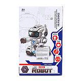 Робот радиоуправляемый «Макс», световые и звуковые эффекты, работает от батареек, фото 5