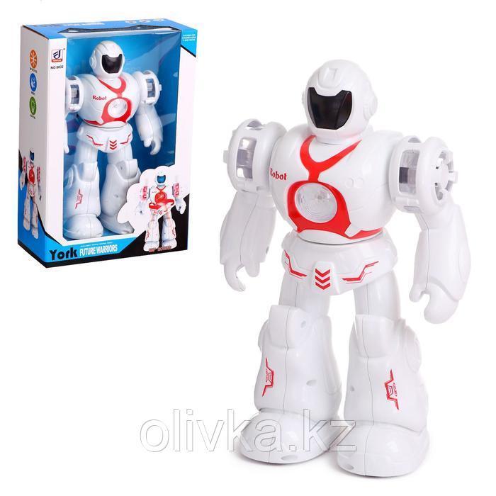 Робот «Герой», световые и звуковые эффекты, цвета МИКС