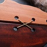 """Сувенирное деревянное оружие """"Набор воина"""", щит 36 х 27 см, меч 38 х 7 см, фото 4"""