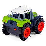 Трактор-перёвертыш «Хозяин фермы», работает от батареек, в пакете, фото 3