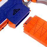 Автоматический бластер «Воин света», с мишенью, стреляет мягкими пулями, работает от батареек, фото 3