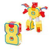 """Набор роботов """"Робо цифры 0 9"""", трансформируется,, фото 10"""