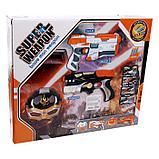 Набор игровой «Супергерой», маска, пистолет с пулями, мишень, цвета МИКС, фото 7