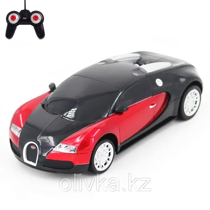 Машина на радиоуправлении Bugatti Veyron, масштаб 1:24, МИКС