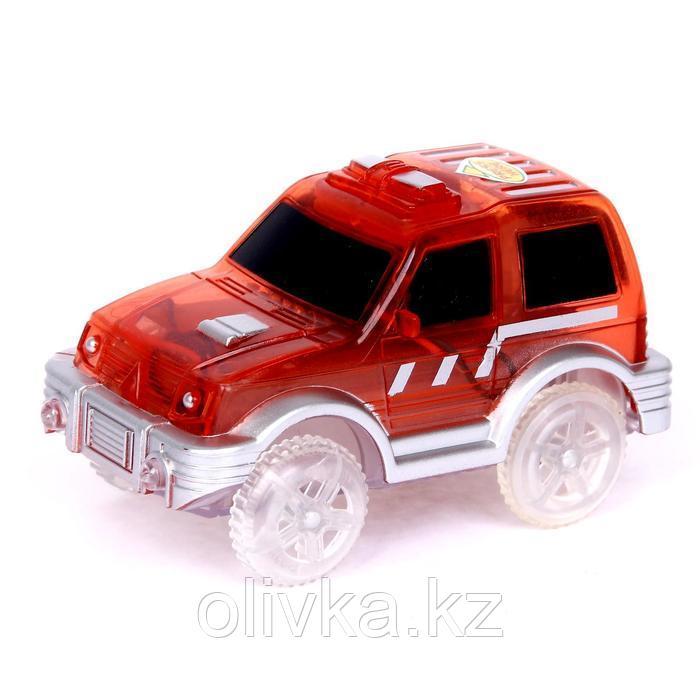 Машинка для гибкого трека Magic Tracks, цвет красный