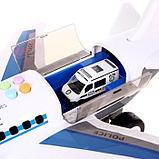 Парковка «Полицейский самолет», с машинками, световые и звуковые эффекты, фото 5