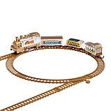 Железная дорога «Скорый поезд», работает от батареек, фото 3