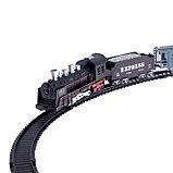 Железная дорога «Грузовой состав», свет и звук, работает от батареек, фото 2