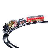 Железная дорога «Скорый поезд», радиоуправляемая, работает от батареек, световые и звуковые эффекты, фото 2