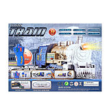 Железная дорога «Скорый поезд», радиоуправляемая, работает от батареек, световые и звуковые эффекты, фото 4