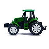 Трактор инерционный «Фермер», цвета МИКС, фото 2