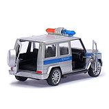 Машина инерционная «Полицейский Гелендваген», фото 2