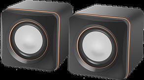 Компактная акустика 2.0 Defender SPK 33 черный