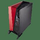 Компьютерный корпус Corsair Carbide Series SPEC-OMEGA Tempered Glass ATX/Micro-ATX/Mini-ITX, Черно-красный