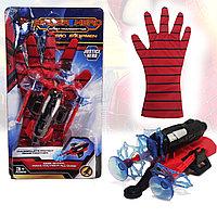 Игровой набор Человек паук Spider man с бластером и перчаткой WL11187-42A-G