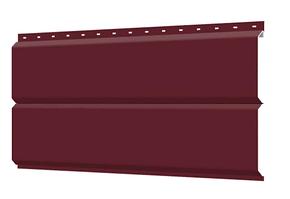 Металлосайдинг Эконом 0,35 мм 240 мм RAL 3005 глянец  Europanel Цена 650 тенге при заказе свыше 50 п.м