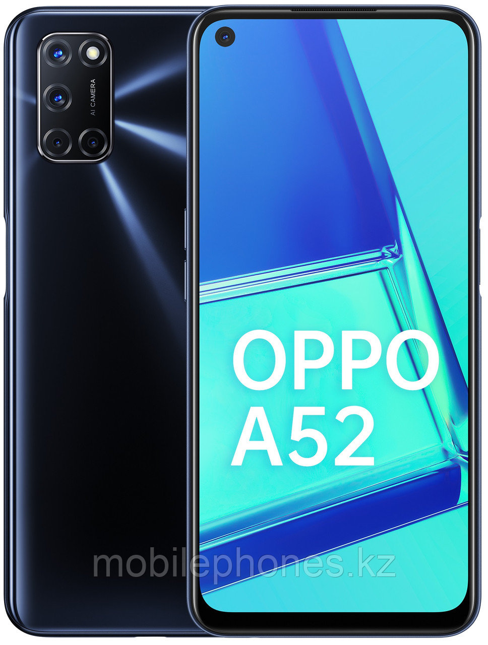 Смартфон OPPO A52 Twilight Black