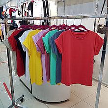 Базовая однотонная футболка