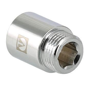 Удлинитель хромированный резьбовой VALTEC ВН-НАР, фото 2