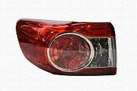 Фонарь задний наружний левый Toyota Corolla 150 2010-2013