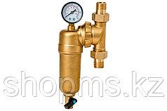 Фильтр Гейзер-Бастион 7508095201 (3/4 для горячей воды, с поворотным мех., манометром, d60) 32679