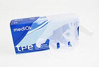 Перчатки одноразовые ТПЭ, MediOk бесцветные, размер L, уп 200 шт