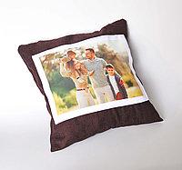 Подушки с логотипом, принтом, фото.