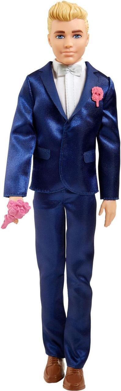 Barbie Кукла Кен Жених в  синем костюме, Барби