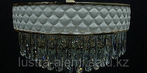 Люстра Модерн K 071/500 White Leather E14*11, фото 3