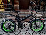 """Bafang 48v 500w (max 1000w), аккум. Li-ion 48v 13 A/H. Электровелосипед складной. Колеса 20*4""""., фото 6"""