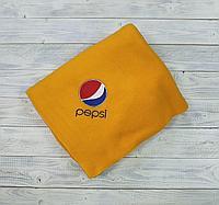 Вышивка логотипа на пледы.