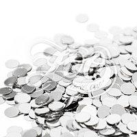 1170 Круглые камифубуки 3мм серебро 1 г ZOO