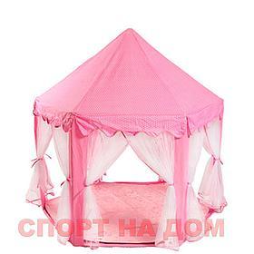 Детский шатер (Замок) розовый